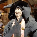"""A mannequin woman witch that represents as the header of """"bunnings karen meme"""" blog."""