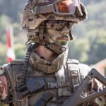 "Fully gear soldier as the featured image of ""brereton report and international humanitarian law"" blog."