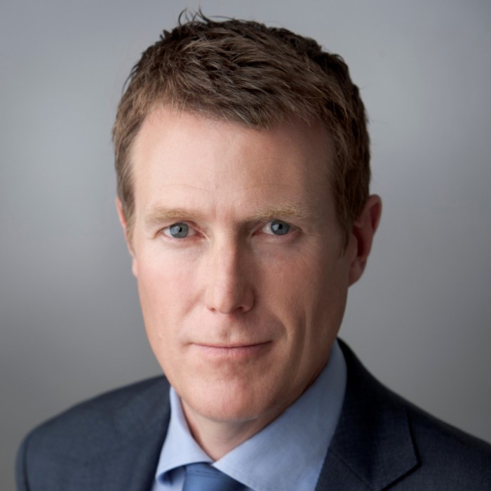 """Closed-up of Christian Porter and that represents the """"christian porter's rule of law"""" blog."""